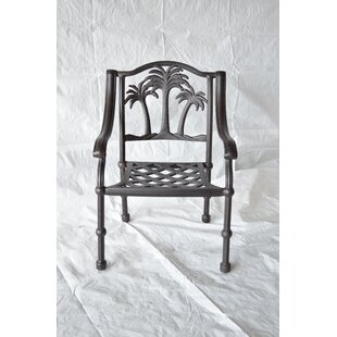 Maccharles Patio Dining Chair with Cushion