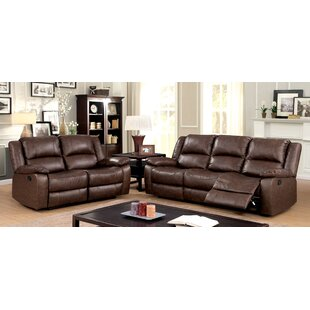 Alcott Hill Karst Reclining 2 Piece Living Room Set