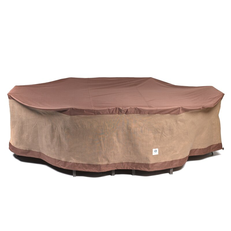 Superbe Oval Patio Table U0026 Chairs Cover