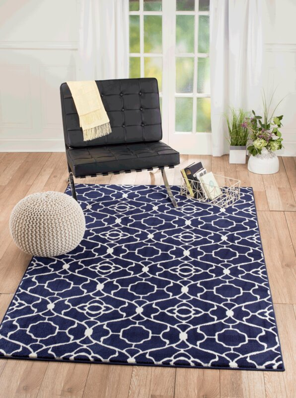 summit elite navy blue area rug