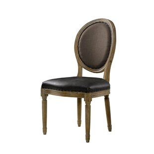 French Vintage Louis Round Side Chair (Se..