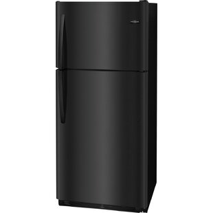 20.4-Cu. Ft. Top Freezer Refrigerator - Black