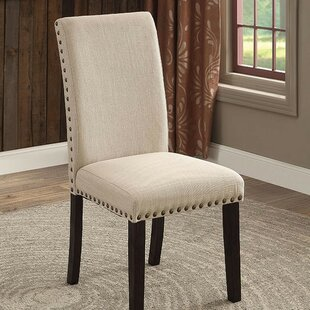 Quill Upholstered Dining Chair (Set of 2) by Alcott Hill