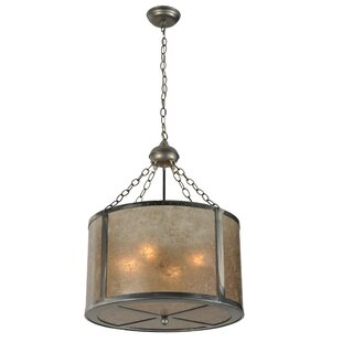 Loon Peak Ybanez 4-Light Drum Pendant