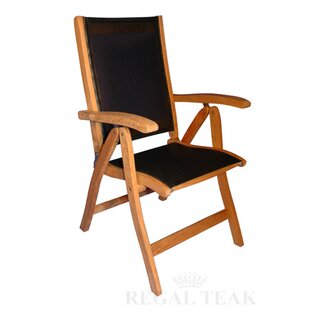 Regal Teak Reclining Reclining Zero Gravity Chair