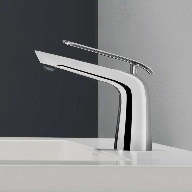 Superbe Seda Single Hole Bathroom Faucet