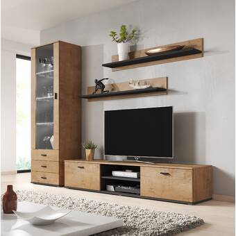 Orren Ellis Earle Entertainment Center For Tvs Up To 88 Reviews Wayfair