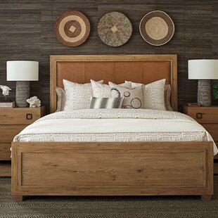 Los Altos Upholstered Panel Bed by Tommy Bahama Home Cheap