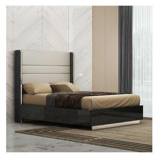Demario Upholstered Platform Bed