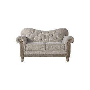 Trivette Upholstery Loveseat by Lark Manor
