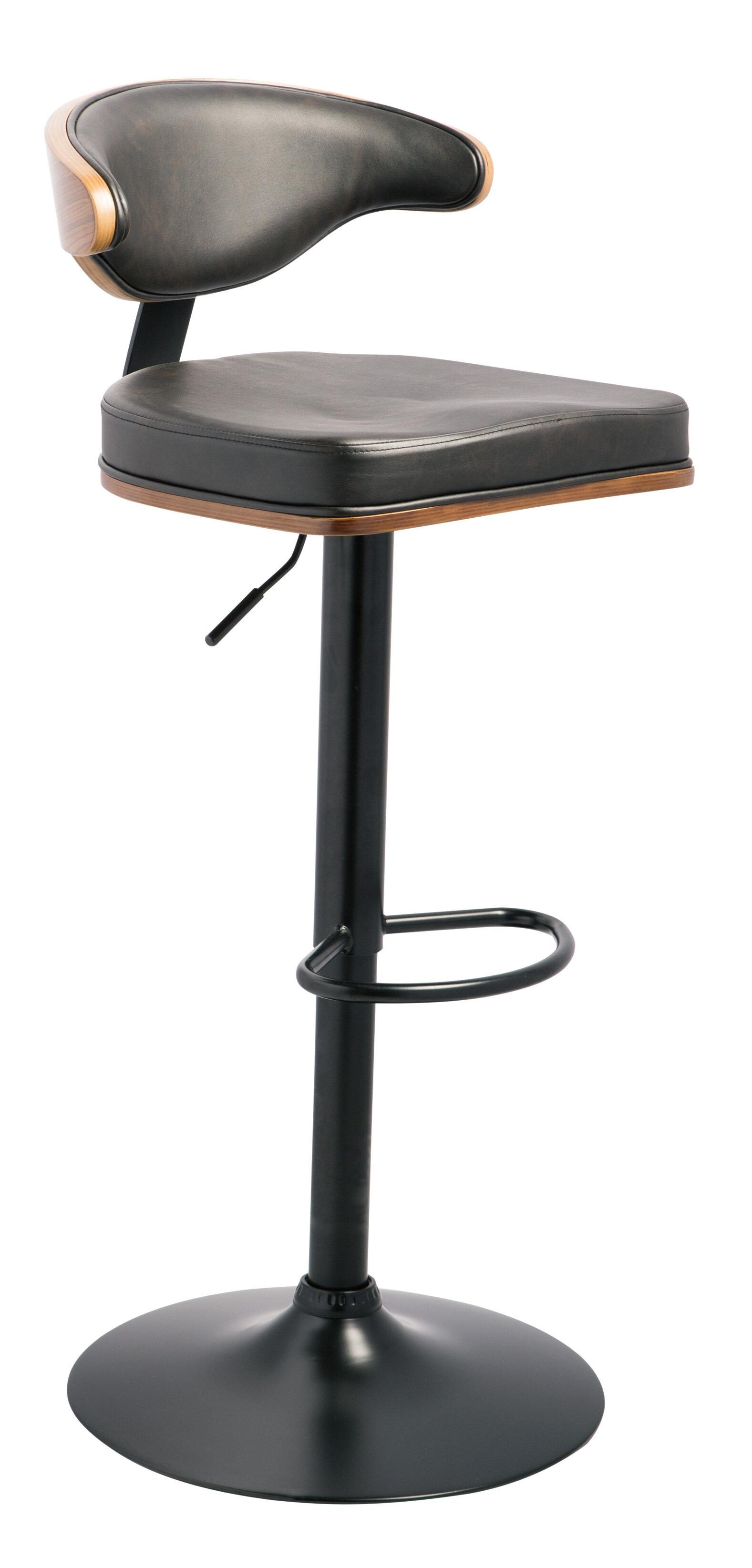 Atropos adjustable height swivel bar stool reviews joss main