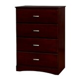 Hargrave Wooden 4 Drawers Accent Chest by Red Barrel Studio®