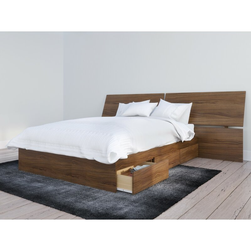 Ralston Platform Bed With Drawers