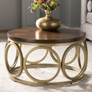 Christon Round Coffee Table by Willa Arlo Interiors