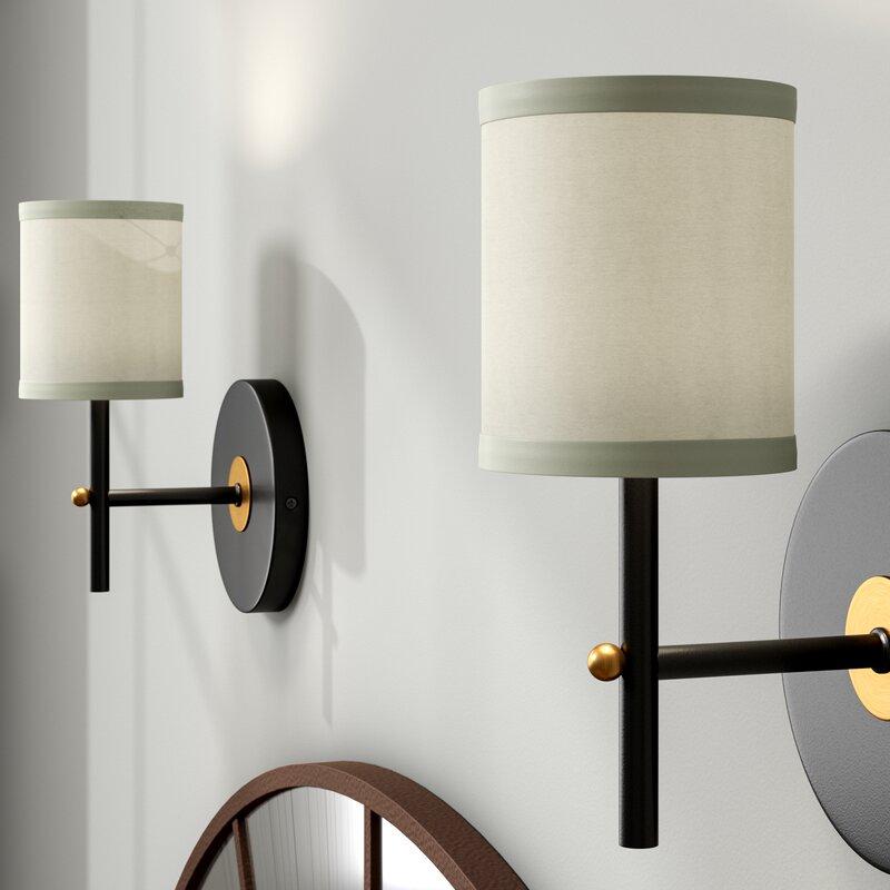 Latitude Run 4 75 H Silk Shantung Drum Lamp Shade Clip On Reviews Wayfair Ca
