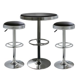 3 Piece Soda Fountain Style Pub Set