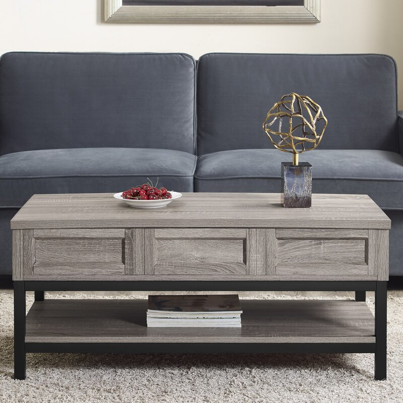 Gentil Omar Lift Top Coffee Table