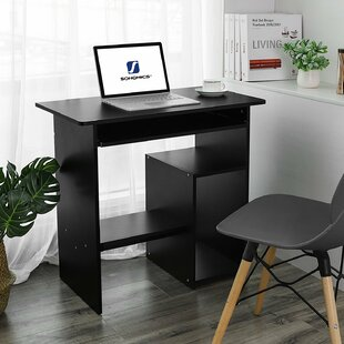 Buy clear Eustice Computer Desk By Rebrilliant