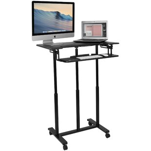 Clapton Mobile Height Adjustable Standing Desk Converter