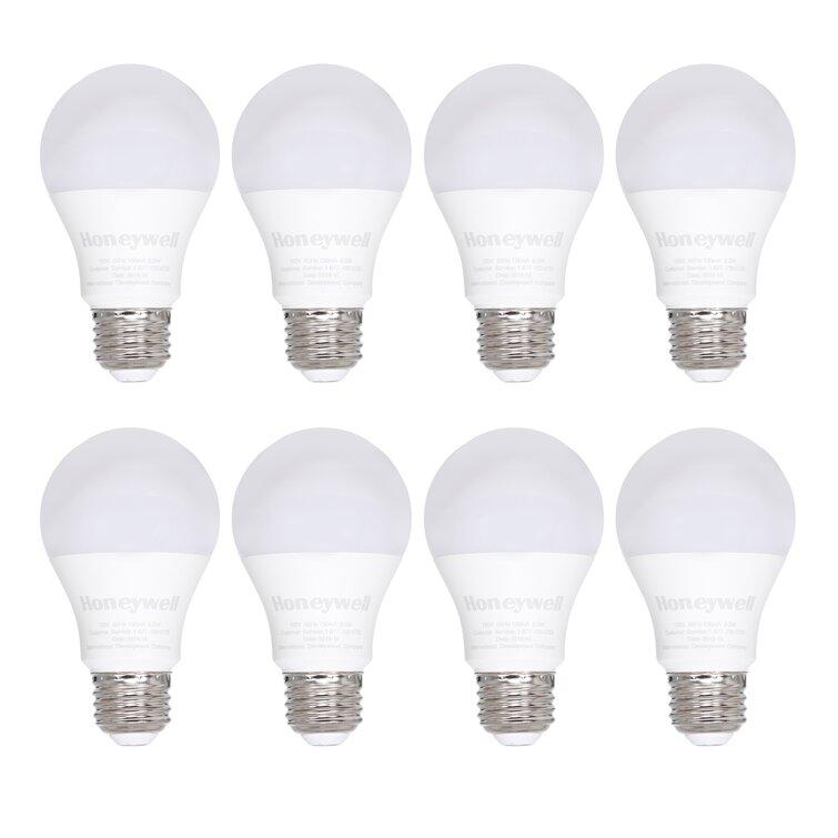 Honeywell 60 Watt 60 Watt Equivalent A20 Led Non Dimmable Light Bulb Warm White 2700k E26 Medium Standard Base Reviews Wayfair