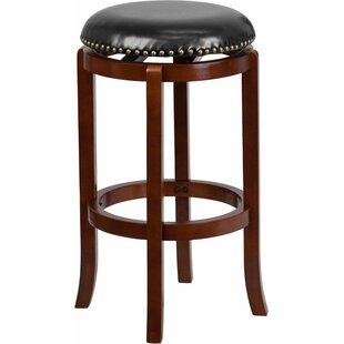Inexpensive Jenkin Backless 29'' Swivel Bar Stool by Charlton Home