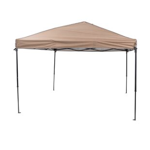 TrueShade™ Plus 10 Ft. W x 10 Ft. D Steel Pop-Up Canopy