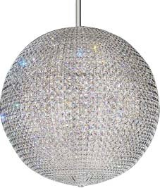 Da Vinci 72-Light Crystal Chandelier by Schonbek