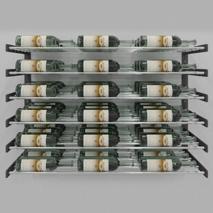 Evolution Series 54 Bottle Wall Mounted Wine Rack