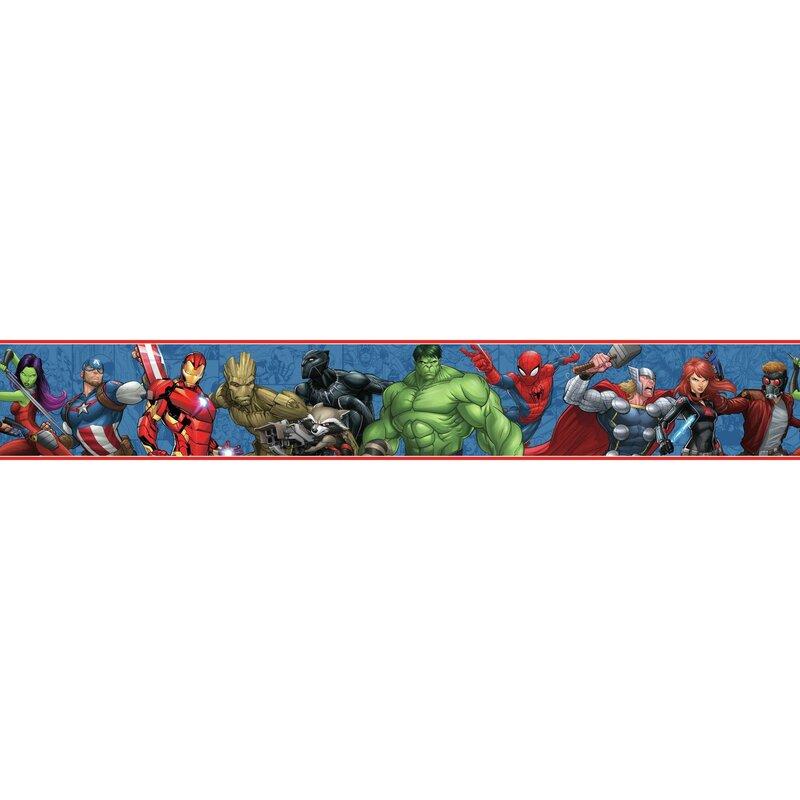 Disney Kids III Marvel Characters 15' L x 9