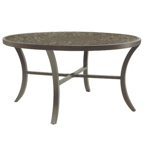 Brocado Classical Aluminum Dining Table
