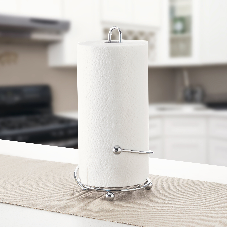 Wayfair Basics Wire Free Standing Paper Towel Holder Reviews Wayfair