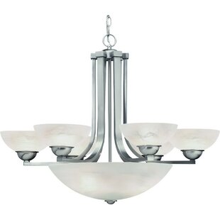Dolan Designs Fireside 9-Light Shaded Chandelier