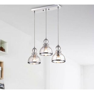 Wrought Studio Copeland 3-Light Kitchen Island Pendant