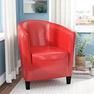 Latitude Run Capron Barrel Chair