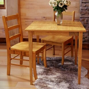 Avawatz 3 Piece Dining Set Loon Peak