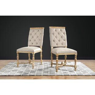 Amberwood Upholstered Dining Chair (Set of 2) Ophelia & Co.
