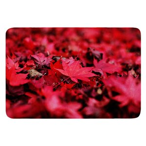 Leaves by Angie Turner Bath Mat