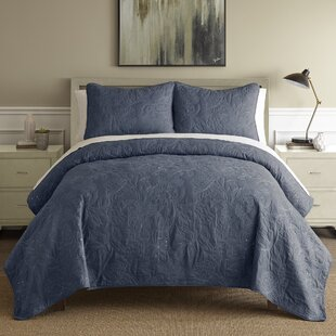 Tinley 3 Piece Reversible Quilt Set