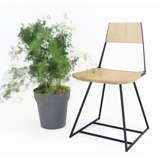 Clarke Solid Wood Dining Chair by Tronk D..