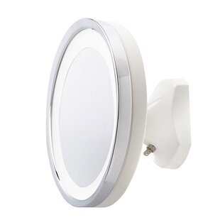 Best Choices Fillmore LED Lighted Direct Wire Makeup/Shaving Mirror BySymple Stuff