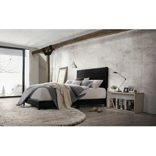 Corrigan Twin Upholstered Panel Bed by Ebern Designs