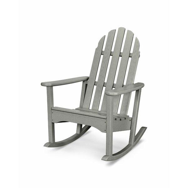 Polywood Rocker Plastic Adirondack Rocking Chair Reviews Wayfair