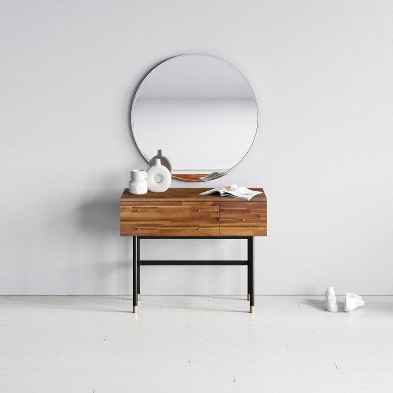 Tressa Solid Wood Vanity Reviews Allmodern