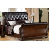 Leanne Upholstered Sleigh Bed by Canora Grey