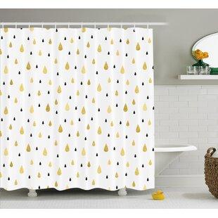 Teardrop Decor Single Shower Curtain