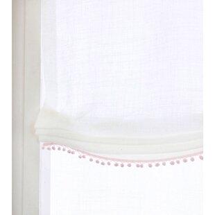 Ophiuchi Room Sheer White Roman Shade by Mistana