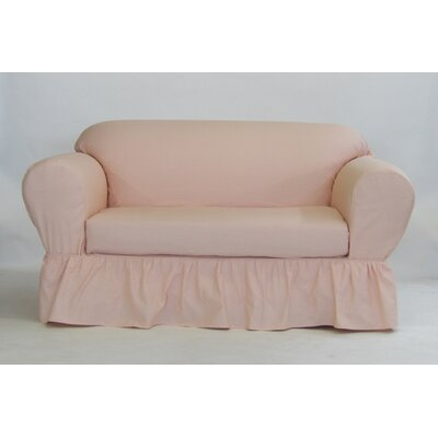 Prime August Grove Box Cushion Loveseat Slipcover Upholstery Blush Unemploymentrelief Wooden Chair Designs For Living Room Unemploymentrelieforg