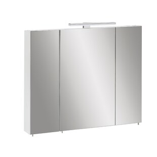 Mcchristian 80 X 75cm Mirrored Wall Mounted Cabinet By Mercury Row
