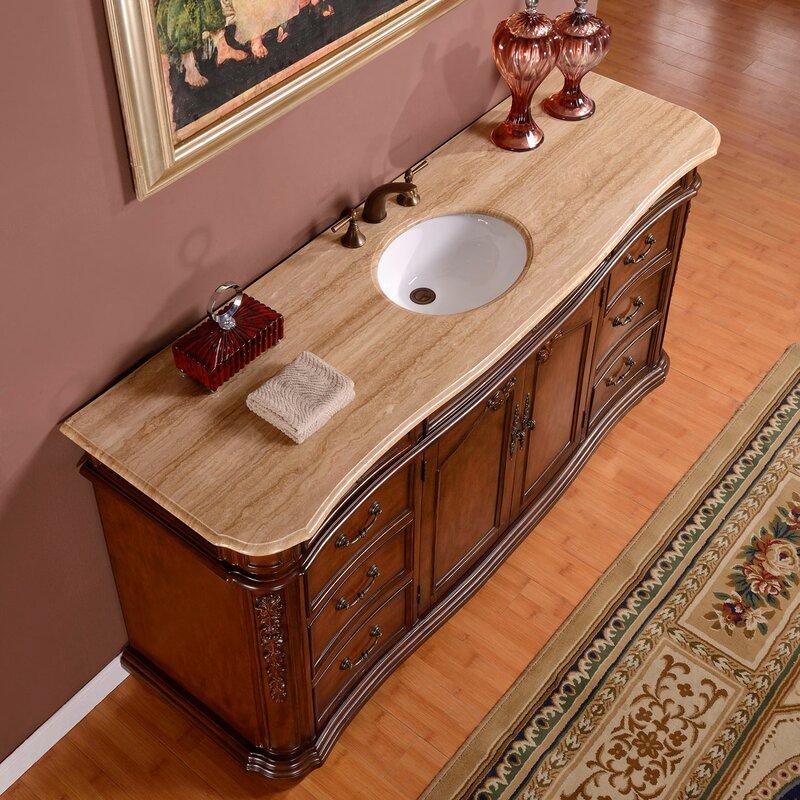 72 Single Sink Cabinet Bathroom Vanity Set