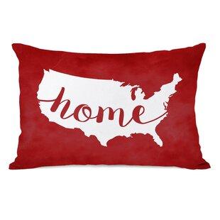 Usa Map Pillow Wayfair